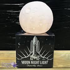 Temerity Jones Desktop Luna Light Up Moon Space Nightlight Kids