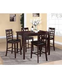 Red Barrel Studio Plymouth 5 Piece Counter Height Dining Set