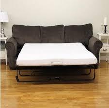 amazon com modern sleep 4 1 2 sofa bed memory foam mattress