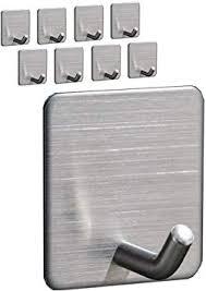 selbstklebende haken strapazierfähig edelstahl wasserdicht zum aufhängen an wand tür schrank bad schlafzimmer küche für handtuch mantel