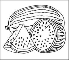 Watermelon clipart circle 7