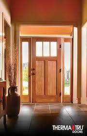 Therma Tru Classic Craft American Style Fiberglass Door With Energy Efficient Low
