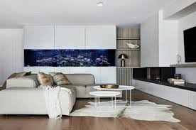 aquarium in the wall as part of the interior helpful tips