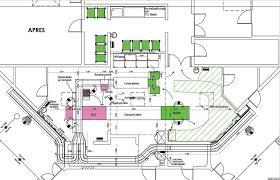 plan cuisine collective construction de cuisines collectives hb architecture aquitaine
