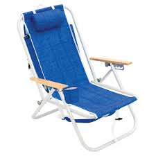 Rio 4-Position Aluminum Backpack Beach Chair