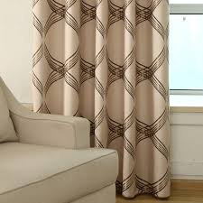 New European Top Grade Contracted Upset Shading Linen Jacquard Curtain Fabric Sample Curtains For Living