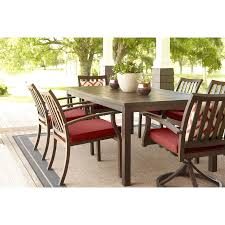 Threshold Heatherstone Wicker Patio Furniture by Shop Allen Roth Gatewood 41 85 In W X 75 83 In L Rectangle