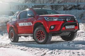 100 Hilux Truck Toyota AT35 Professional Pickup 4x4 Magazine