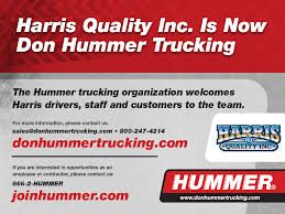 Harris Quality Inc. Is Now Don Hummer Trucking Rr Transportation Inc Vaught Trucking Inc Front Royal Va Rays Truck Photos Lexington Trucker Recovering After Oklahoma Tornado Blew Rig Off Equity Transportation Co Grand Rapids Mi Friday March 24 Papa Johns Parking Part 4 As Fatal Truck Crashes Surge Government Wont Make Easy Fix The Insurance Youtube Cra Landing Nj Midway Ford Center Dealership Kansas City Mo Drug Test Rate Cut To 25 Tmc Flatbed Carrier Logistics Long Llc Home Facebook
