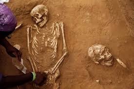 An American Archaeology Student Unearths A Skeleton During Excavation Works At The First Ever Philistine