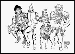 Wizard Of Oz Coloring Pages 71