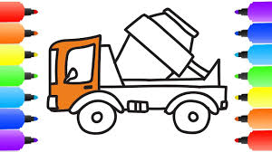 How To Draw Dump Truck Coloring Pages Kids Learn Colors For ... Dump Truck Coloring Page Free Printable Coloring Pages Drawing At Getdrawingscom For Personal Use 28 Collection Of High Quality Free Cliparts Cartoon For Kids How To Draw Learn Colors A And Color Quarry Box Emilia Keriene Birthday Cake Design Parenting Make Rc From Cboard Mr H2 Diy Remote Control To A Youtube