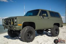 1986 Chevrolet K5 CUCV Blazer Military M1009 M1008 M35A2 M35 Must See! How Surplus Military Trucks And Trailers Continue To Fulfill Their You Can Buy Your Own Humvee Maxim Seven Vehicles And Should Actually The Drive Kosh M1070 Truck For Sale Auction Or Lease Pladelphia M113a Apc From Find Of The Week 1988 Am General Autotraderca Sources Cluding Parts Heavy Equipment Soft Top 5 Ton 5th Wheel Tractor 6x6 Cummins 6 German 8ton Halftrack Tops 1 Million At Military Vehicl Tons Equipment Donated To Police Sheriffs Startribunecom