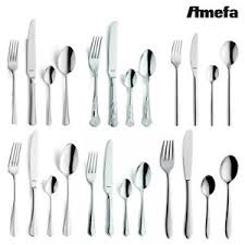 Image Is Loading Amefa Cutlery Set 24 Piece Stainless Steel Stylish