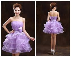 back to short prom dresses big bow lace up cocktail party