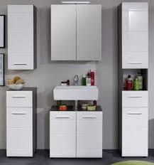badmöbel set badezimmer möbel weiß hochglanz grau sardegna möbelset 5 tlg line