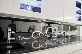 Full Size Of Kitchen Backsplashdesigner Splashback Glass Colours Mirror Black Printed