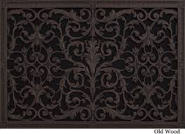 decorative return air filter grille 20 x 30 louis xiv style