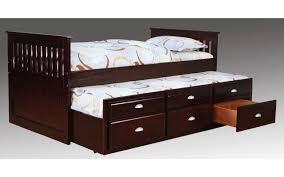Jayden Twin Espresso Captain s Bed