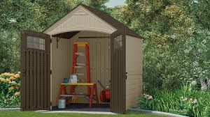 Suncast Horizontal Storage Shed Assembly by 322 Cu Ft Sutton 7 X 7 Storage Shed Suncast Corporation