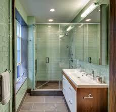 mid century bathroom ideas bathroom midcentury with tile floor