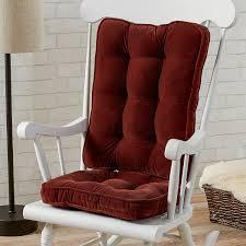 100 Greendale Jumbo Rocking Chair Cushion Home Fashions Hyatt Standard Set