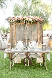 Vintage Rustic Wedding Table Decoration