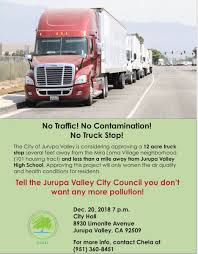 100 Valley Truck And Trailer CCAEJ On Twitter Mira Loma Residents Cannot Continue To Be
