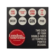 Cockney Rhyming Slang Beermats By Pentagram GBP1000 Previous Next
