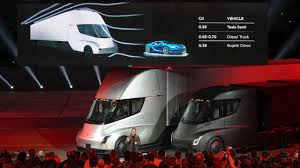Tesla Semi Truck In Images: Tesla's Take At A 1000 Hp Long-haul ... Tesla Pickup Truck Sketch Size Details Performance Digital Trends Semi Watch The Electric Truck Burn Rubber Car Magazine Pair Spotted In Convoy Mode On Ca Highway Teslas Beast Of An Semi Looks Like A Beauty Luxury Restaurantlirkecom Unveils Companys Longawaited Semitruck Elon Musk Turns To Twitter For Feature Ideas Roadshow Robot Battle Mercedes And Vw Images Take At 1000 Hp Longhaul Gigantic Power Need Charge Transinfo