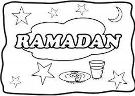 Ramadan Coloring Page English