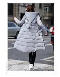 2018 2016 Fashion Women Winter New Medium Long Down Cotton Parka