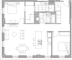 C Floor Plans by The Rowe Floor Plan C