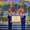 Trao bằng xếp hạng Khu di tích Bạch Đằng Giang là di tích lịch sử ...