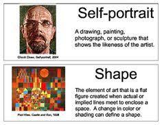 Create An Art Word Wall On Your Schools Bulletin Board