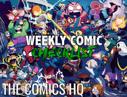 Weekly Comic Checklist 2018 04 25