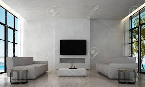 100 Modern Luxury Design Living Room Interior And Concrete Texture