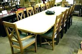 Extension Dining Table Seats 12 Extending Large