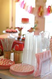 Pink And Gold Birthday Themes pink and gold first birthday party on a budget tips to save money