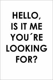 premium poster hello is it me you re looking for typobox
