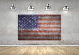 American Flag Canvas 3 Panel Canvas Flag Canvas Multi