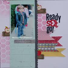 Ready Set Go L 5 Scrapbook school