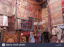 An Old Traditional Turkish Carpet Shop In Cappadocia Goremein Turkey