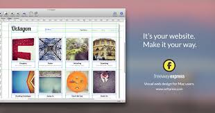 express siege social freeway express easy to use web design software for mac