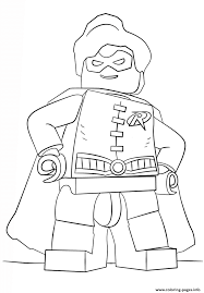 Download Coloring Pages Lego Batman Robin Free Printable Picture