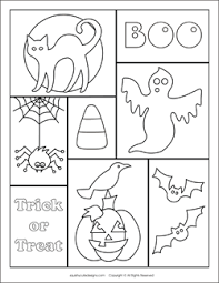 Free Halloween Coloring Pages Sheets Ghost Spider