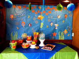 Bubble Guppies Cake Decorations by Bubble Guppies Birthday Party Decorations Archives Decorating Of
