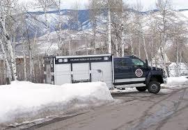 100 Aspen Truck Pitkin County Sheriffs Office CBI Probe Death Of Native