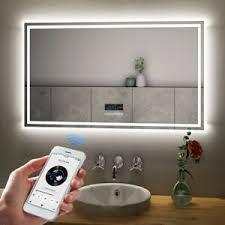 details zu badspiegel led badezimmer mit beleuchtung spiegel bad wandspiegel lichtspiegel