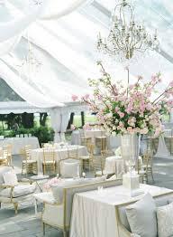 Romantic Outdoor Wedding Reception